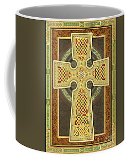 Stylized Celtic Cross Coffee Mug