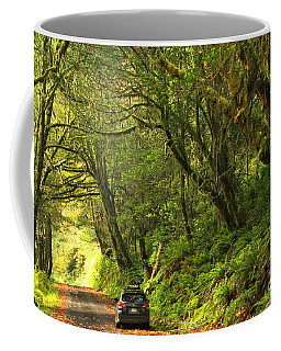 Subaru In The Rainforest Coffee Mug