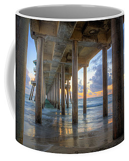 Subtle Pier Sunset Coffee Mug