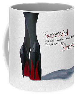 Successful Woman Coffee Mug by Rebecca Jenkins