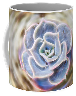 Coffee Mug featuring the photograph Succulent Glow by Beth Sawickie
