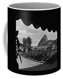 Sugarloaf Mountain Seen From The Patio At Carlos Coffee Mug