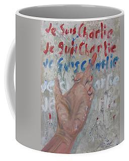 Je Suis Charlie Finger Painting To Al Qaeda Coffee Mug