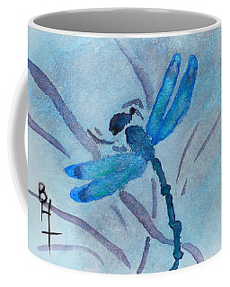 Sumi Dragonfly Coffee Mug by Beverley Harper Tinsley
