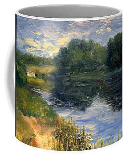 Summer At Jackson Lake Coffee Mug
