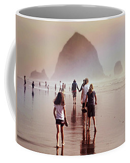 Summer At The Seashore  Coffee Mug by Micki Findlay