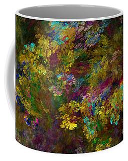 Coffee Mug featuring the digital art Summer Burst by Olga Hamilton