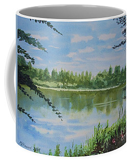 Summer By The River Coffee Mug