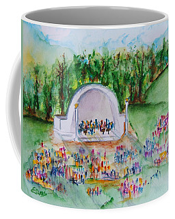 Summer Concert In The Park Coffee Mug