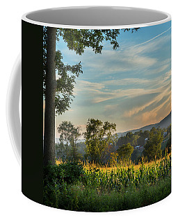 Summer Corn Square Coffee Mug