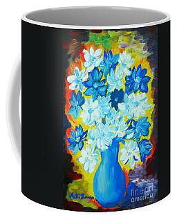 Summer Daisies Coffee Mug by Ramona Matei