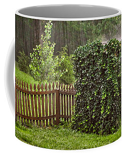 Coffee Mug featuring the photograph Summer Downpour by Greg Jackson