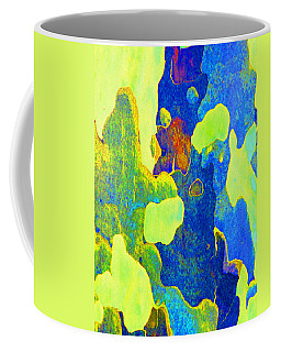 Summer Eucalypt Abstract 14 Coffee Mug