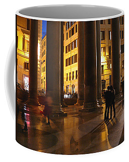 Summer Evening In Rome Coffee Mug by Evelyn Tambour
