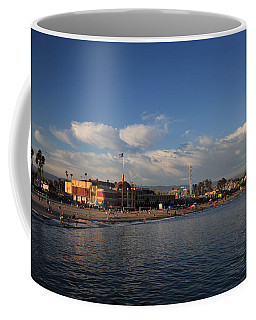 Summer Evenings In Santa Cruz Coffee Mug