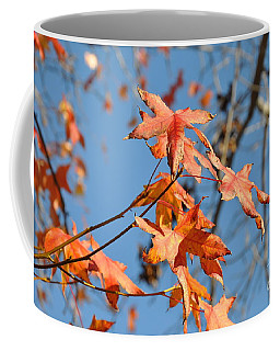 Summer Gold Leaf Coffee Mug