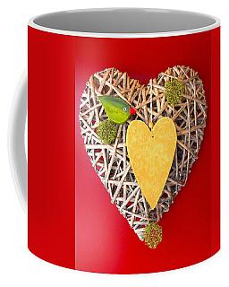 Coffee Mug featuring the photograph Summer Heart by Juergen Weiss