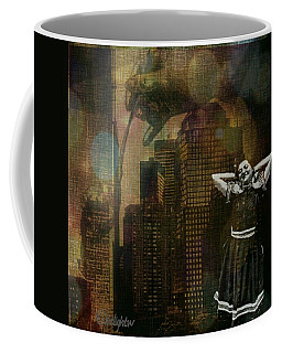 Coffee Mug featuring the digital art Summer In The City by Delight Worthyn