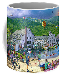 Summer In Waterville Valley Coffee Mug