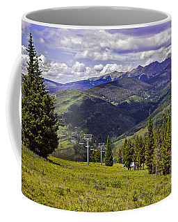 Summer Lifts - Vail Coffee Mug by Madeline Ellis