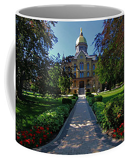 Summer On Notre Dame Campus Coffee Mug