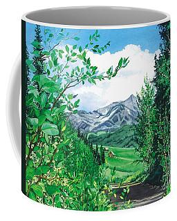 Summer Paradise Coffee Mug by Barbara Jewell