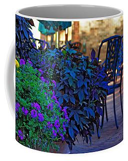 Coffee Mug featuring the photograph Summer Patio by Rowana Ray