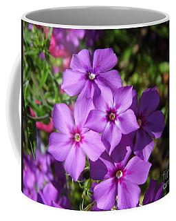Coffee Mug featuring the photograph Summer Purple Phlox by D Hackett