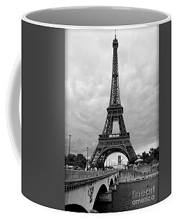 Summer Storm Over The Eiffel Tower Coffee Mug
