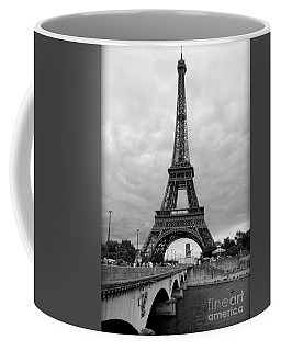 Summer Storm Over The Eiffel Tower Coffee Mug