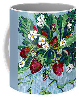 Summer Strawberries Coffee Mug
