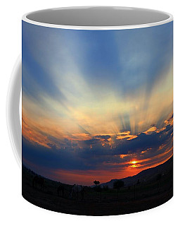 Coffee Mug featuring the photograph Summer Sunrise by Lynn Hopwood