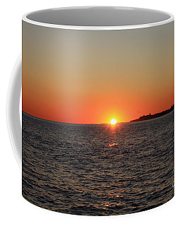 Coffee Mug featuring the photograph Summer Sunset by John Telfer