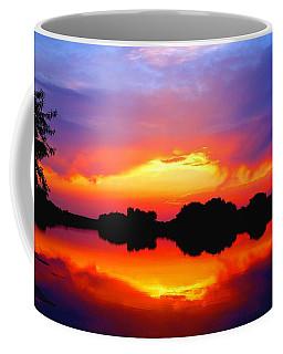 Summer Sunset  Coffee Mug by Lynn Hopwood