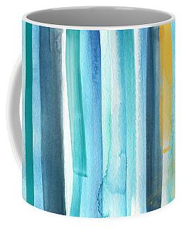 Summer Surf- Abstract Painting Coffee Mug