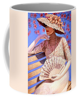 Coffee Mug featuring the painting Summer Time by Sue Halstenberg