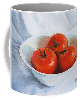 Summer Tomatoes Coffee Mug by Marna Edwards Flavell