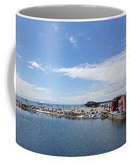 Summers End Capitola Beach Coffee Mug by Amelia Racca