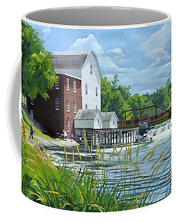 Summertime At The Old Mill Coffee Mug