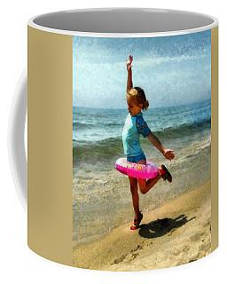 Summertime Girl Coffee Mug