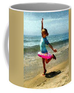 Summertime Girl Coffee Mug