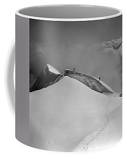 T-702412-bw-summit Of Mt. Robson Coffee Mug