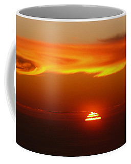 Sun Fire Coffee Mug by Evelyn Tambour