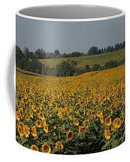 Sun Flower Sea Coffee Mug