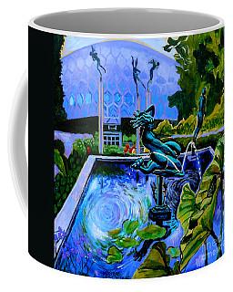 Sun Glitter Mermaid At Missouri Botanical Garden Coffee Mug