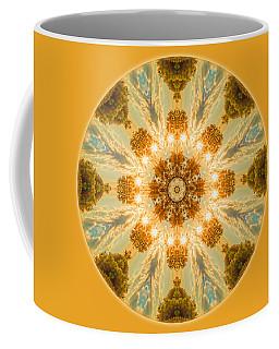 Sun Glow Mandala Coffee Mug