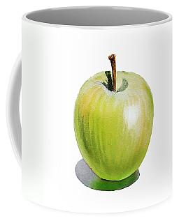 Sun Kissed Green Apple Coffee Mug by Irina Sztukowski