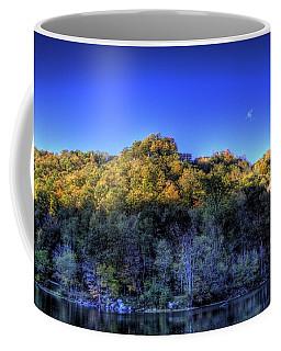 Sun On Autumn Trees Coffee Mug by Jonny D