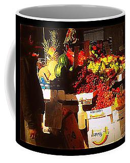 Sun On Fruit Coffee Mug by Miriam Danar