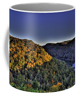Sun On The Hills Coffee Mug by Jonny D